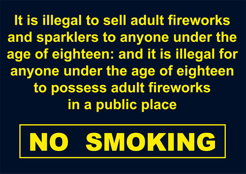 Fireworks Poster - The Fireworks Law