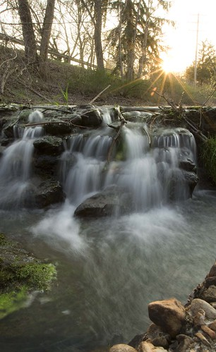 sunset water 50mm waterfall depthoffield wispy 1635mm