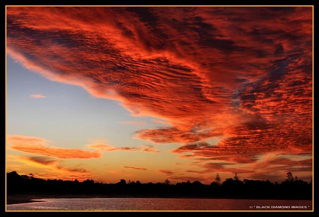 Wynnum Sunset 29th April 2009