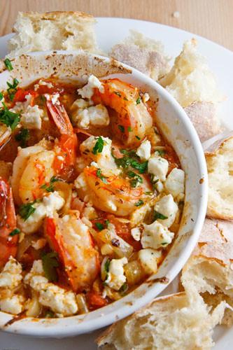 Garides Saganaki (Shrimp Saganaki) | Flickr - Photo Sharing!