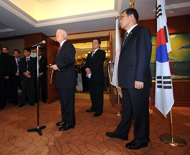 Gates Attends Shangri-La Dialogue Asia Security Summit | Flickr ...