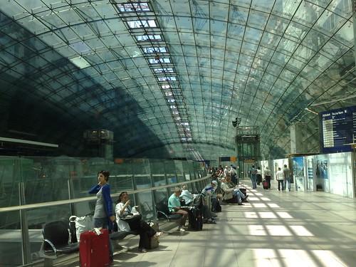 Frankfurt Airport Train Station