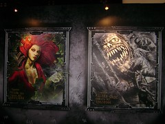Something is. Killer croc and poison ivy