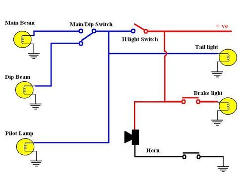 4 stroke basic motorcycle wiring diagram get free image about wiring diagram