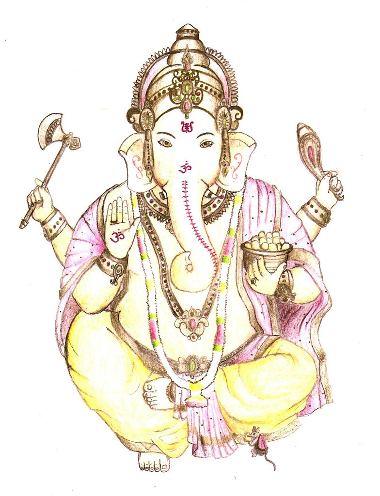 Ganesha arte da india