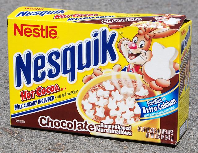 Nesquik Hot Cocoa, 2004