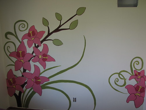 Wonderful wall art just paint it blog for Best projector for mural painting