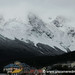 Snowy, Cloudy Day in Ushuaia, Argentina