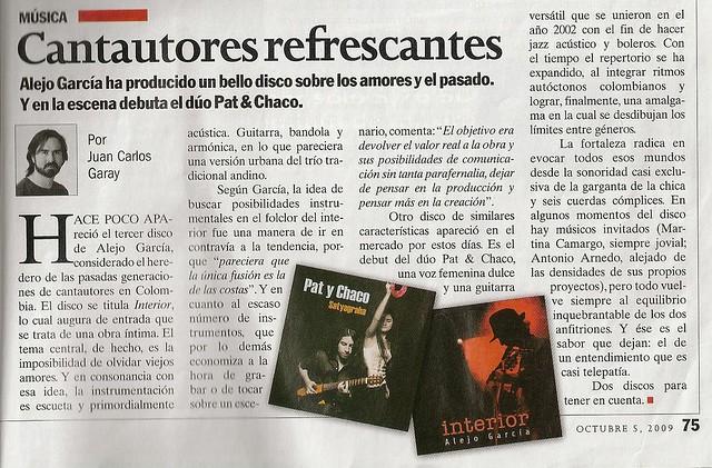 Revista Semana Colombia Octubre de 2009