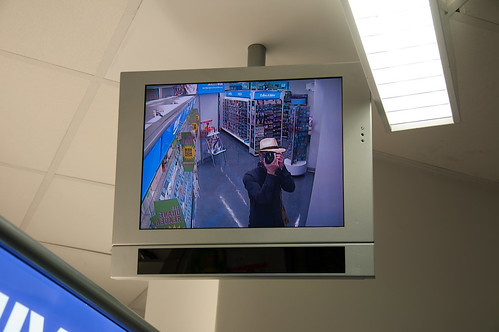 catching the cctv catching me #SemioticSatisfaction, ii