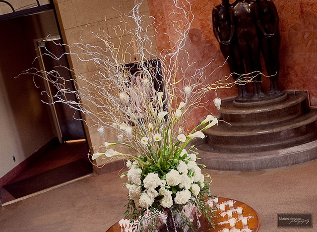 Grand Flower Arrangements http://www.flickr.com/photos/emeraldcitydesigns/5727656516/
