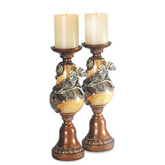 CCS202988S - Tuscana Pear Candleholders