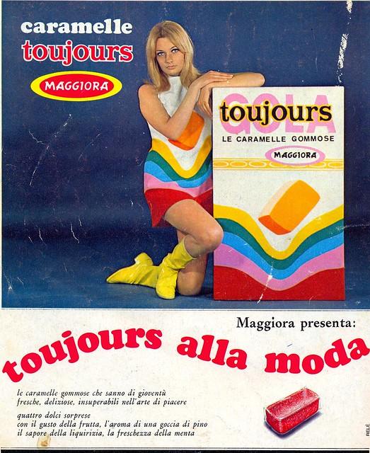 retro giovani - 1967 - pubblicità