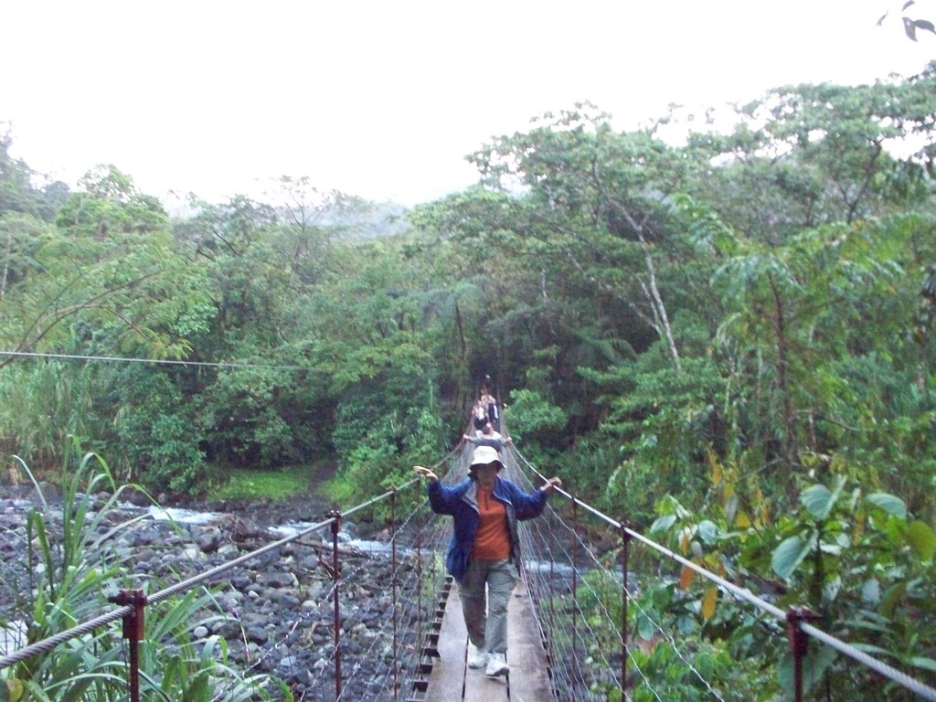 Scary Bridge - La Fortuna, Costa Rica