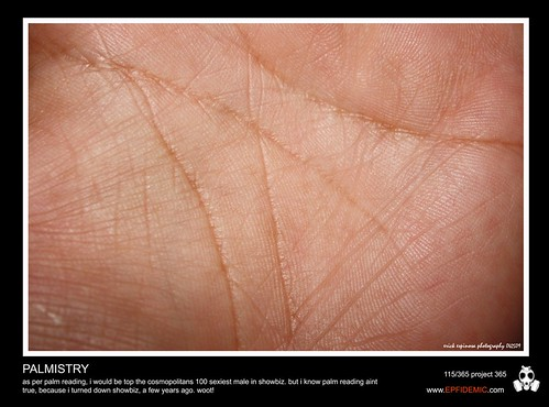 "What is the significance of ""thumb lines"" in Palmistry?"