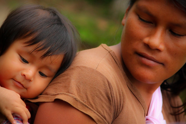 Quichua Mother & Child