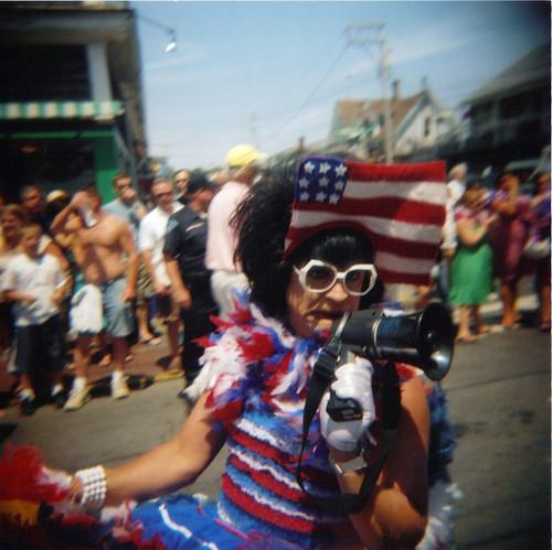Holga- Provincetown Parade 1/365