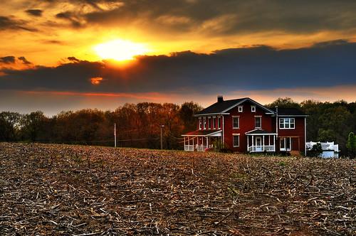 sunset ohio geotagged nikon hdr d300 photomatixpro ruralohio canalfultonohio starkcountyohio nikongp1 afsdx1685vrg
