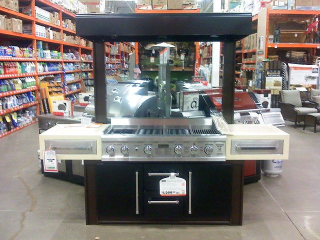 Electric grill home depot