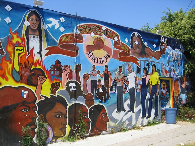 Barrio sherman mural street art flickr photo sharing for 18th street mural