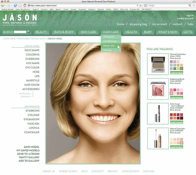 cosmetic website in Luxembourg