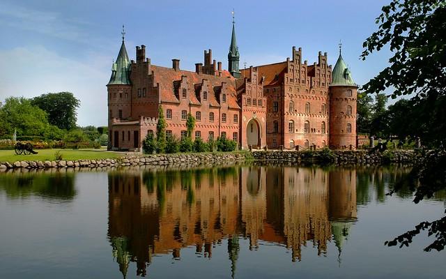 Egeskov Castle - Funen, Denmark