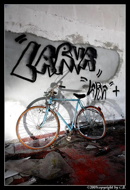 Larva...
