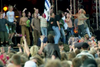Iggy Pop at Roskilde, 1998