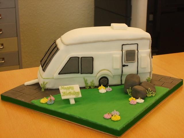 Caravan Birthday Cake Ideas