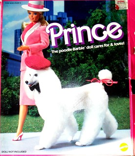 Barbie Prince Dog