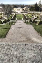 Botanic garden. Uppsala. Jardín botánico