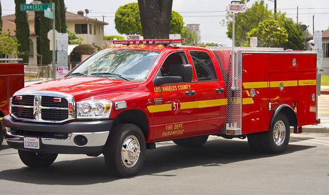 Los Angeles County Fire Dept. Squad 51