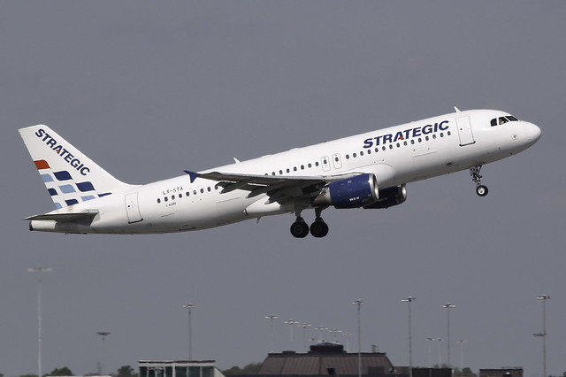 LX-STA - 1993 build Airbus A320-212, originally deivered to Monarch Airlines