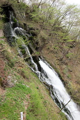 Nikkō - Chuzenji Onsen: Minor waterfall at Kegon no Taki