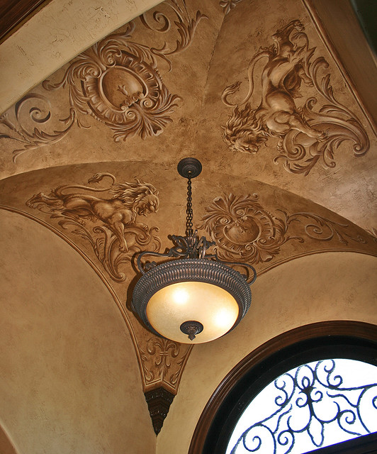 Foyer Ceiling Medallion : Lions and medallions flickr photo sharing