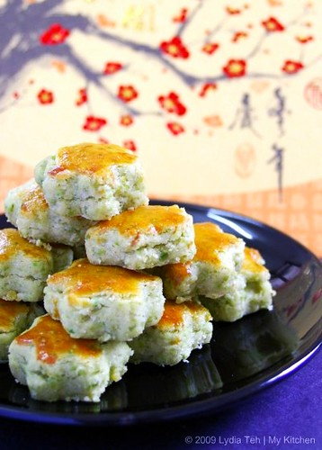CNYB Part II: Green Peas Cookies