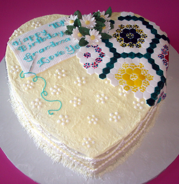 Cross Stitch Cake Designs