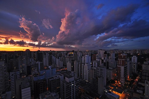 sunset brazil urban sun skyline night clouds evening sãopaulo horizon pôrdosol sp nuvens tarde itaim