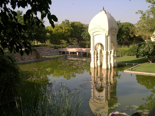 Jaipur, Rajvilas, pool
