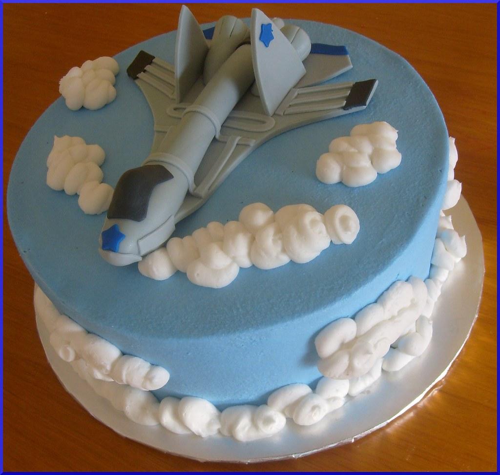 F16 Plane Birthday Cake