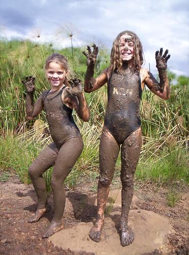 muddy kittens