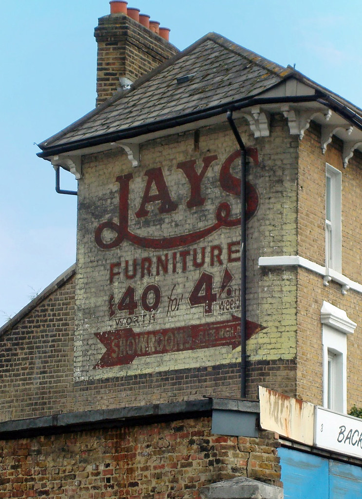 Jays Furniture Lewisham This Bold Sign In Central Lewisha Flickr