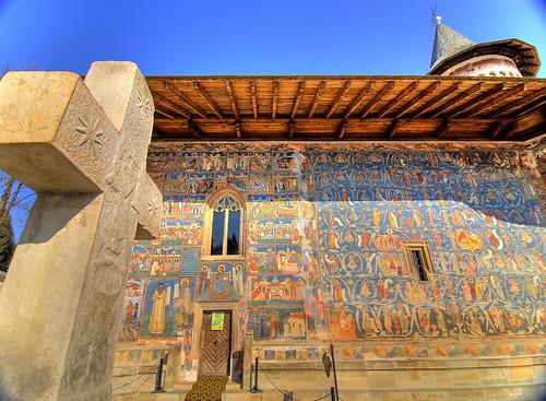 Mănăstirea Voroneţ, Suceava, România