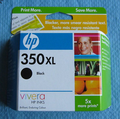 hp 350xl inkjet cartridge