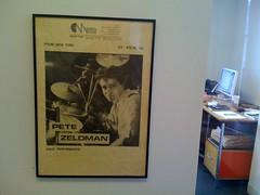 Pete Zeldman on the wall