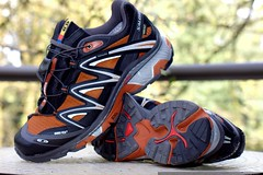 rejected running shoes   salomon men's xt wings gtx …