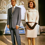 Jackie Kennedy-Onassis and John F. Kennedy