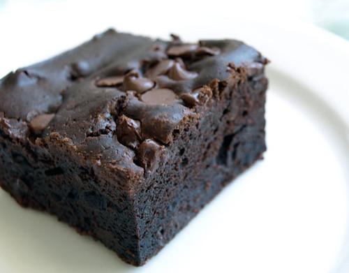 Dark Chocolate Infused Mochi Cake | Flickr - Photo Sharing!