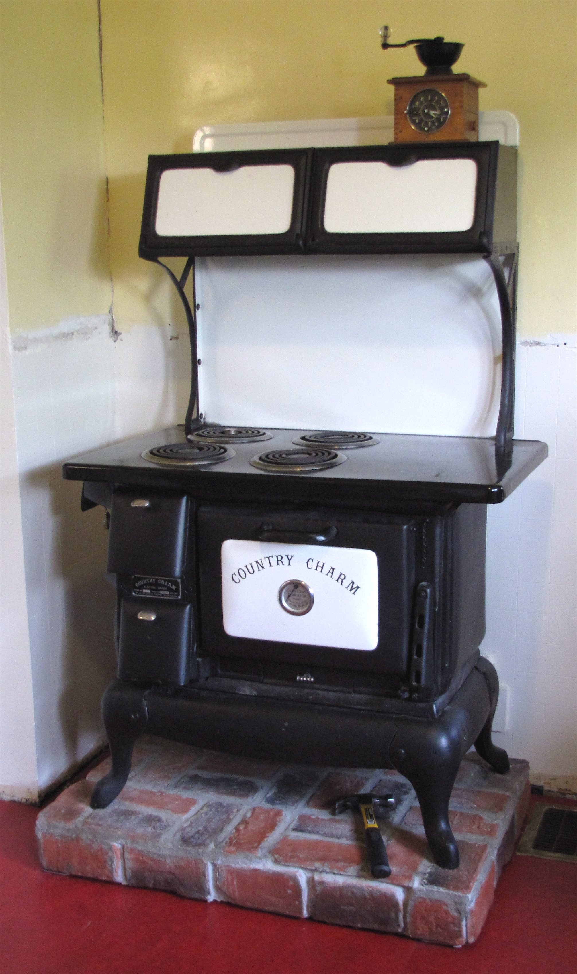 Kitchen Stoves And Ovens ~ Quot country charm stove in our kitchen if you are