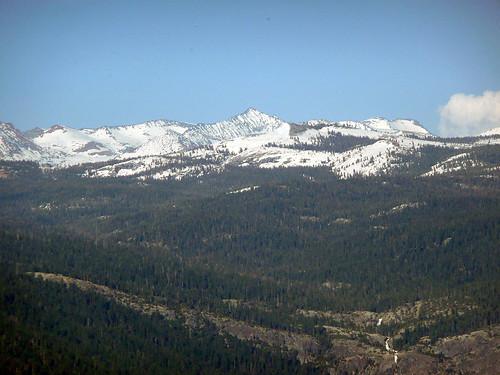 mountain snow yosemite